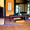 Model of Japanese Home at Huntington Library in Pasadena California