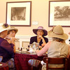Ladies having tea at Huntington Gardens in Pasadena California
