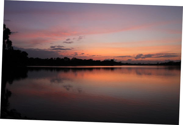 Dawn of National Day at Upper Pierce Reservoir , one fo the best colour i ever saw @ 0700hrs