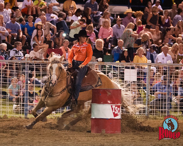Southern Rodeo Company  -  32nd Annual Shady Dale Rodeo, Barrel racing Friday June 5, 2015