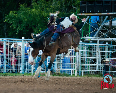 Southern Rodeo Company  -  32nd Annual Shady Dale Rodeo, Bronc riding Friday June 5, 2015