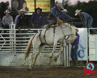 Bronc riding - Southern Rodeo Company May 2,  2015