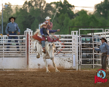 Bronc riding - Southern Rodeo Company  May 1, 2015