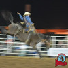 Travis Deal takes on Rocking Robin at Jasper Bulls and Broncs Oct 12, 2013