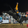 Daniel Hernande takes on Steppen Wolf at Jasper Bulls and Broncs Oct 12, 2013