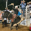 Southern Rodeo Company bull riding event at the Mason & Zach Greene Memorial Rodeo in Calhoun, GA July 18-19, 2014