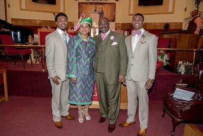 Pastor Davis 15th Anniversary