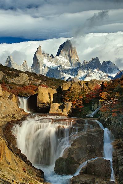 #291 Fitz Roy, Arroyo del Salto, Los Glaciares Natl. Park, Argentina