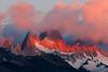 #Pat 147 Fitz Roy Sunrise, Los Glaciares Natl. Park, Argentina
