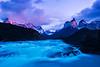 #295 Los Cuernos Sunrise, Torres del Paine Natl. Park, Chile