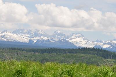 Teton mountain range, Ashton, Idaho. 6.09