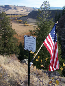Tribute to Jack Parker. Snake River valley, Idaho. 10.08