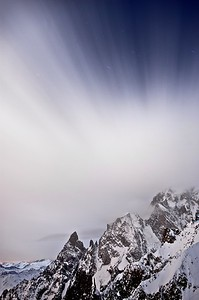 Refuge Torino, Mont Blanc, Stefan Meyer Photography, stage photo Alexandre Deschaumes. Paysage nocturne. Etoile, Nikon D700, Stefan Meyer Photography