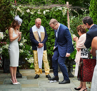 August 18, 2018 - Pound Ridge, NY   Wedding and reception for Risa Hertz and Graeme Peacock at the Inn at Pound Ridge  Photographer- Robert Altman Post-production- Robert Altman