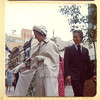 The Queen on her trip to Adelaide for the SIlver Jubilee 1977 with Don Dunstan.<br /> Image taken with my first camera - A Kodak Instamatic. This image is scanned from my Photo album and is probably not suitable quality for printing