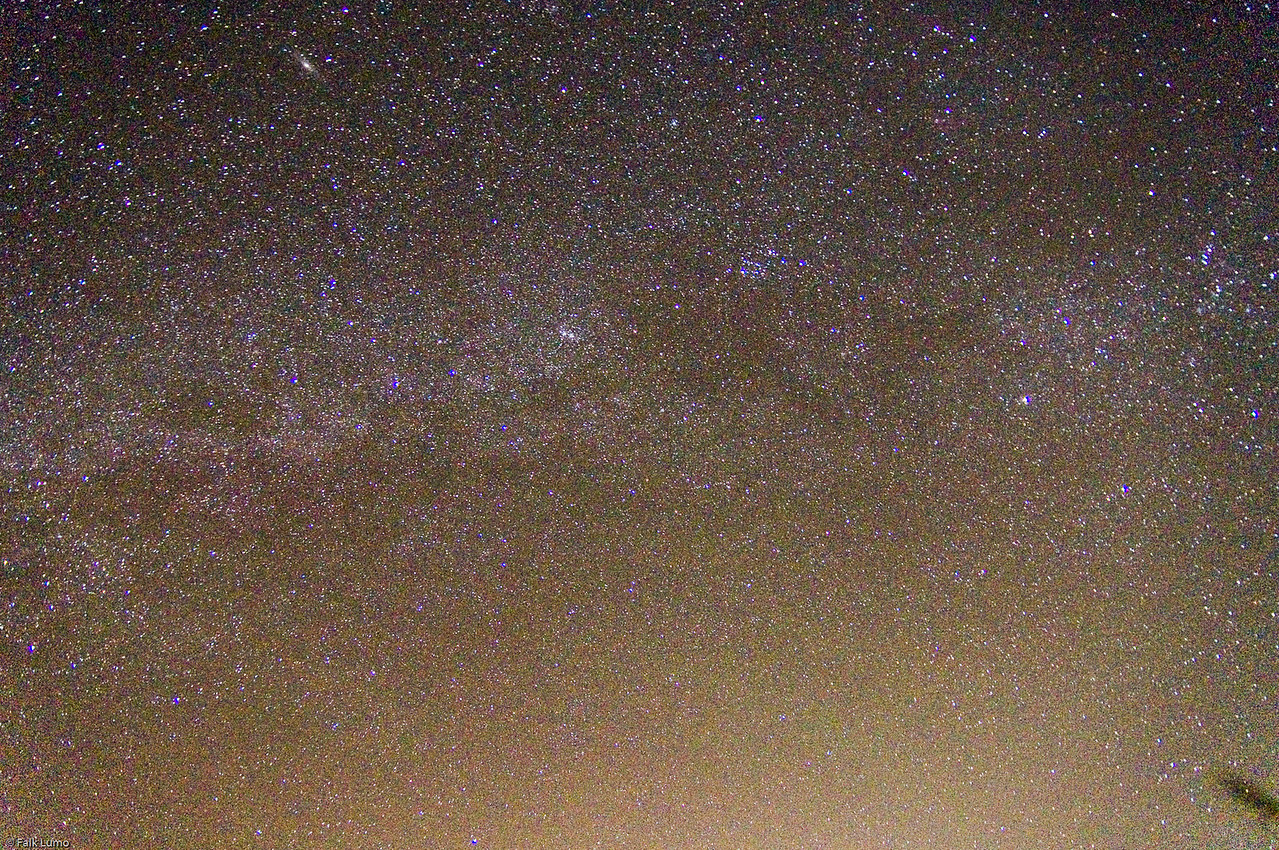 Milky Way in 30s.