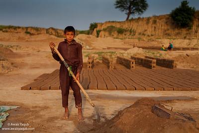brick kiln worker