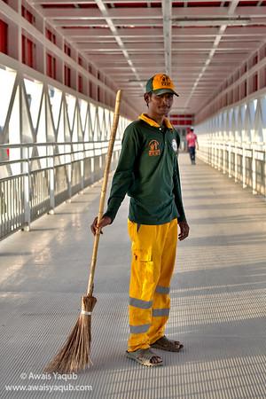 Keeping Metro clean