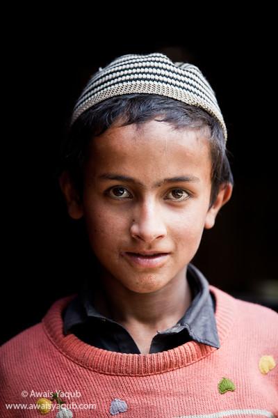 Kashmiri boy