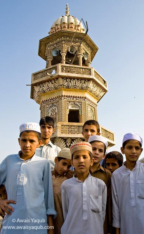 Madrassah Students in Rawalpindi