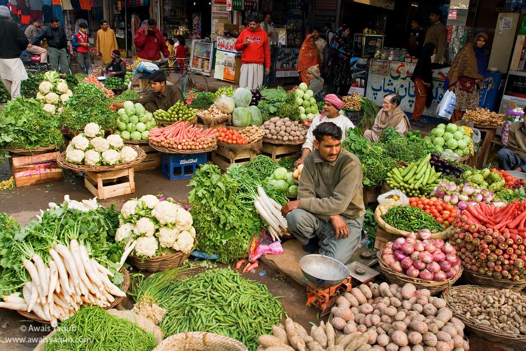 Open Vegetable shop
