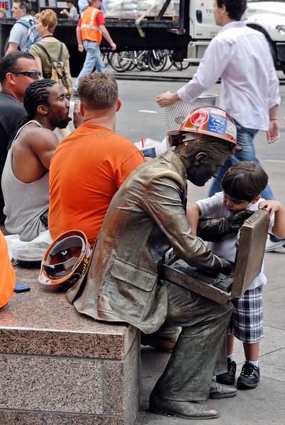 Lunch Break at Ground Zero II