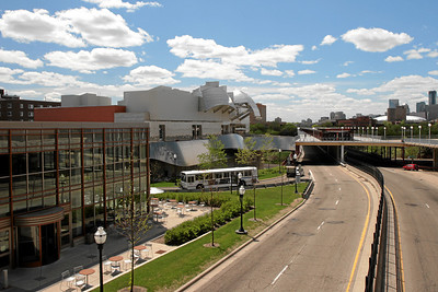 Weisman Museum, and Washington Ave Bridge, Minneaplis MN