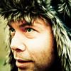 Fuzzy hat.
