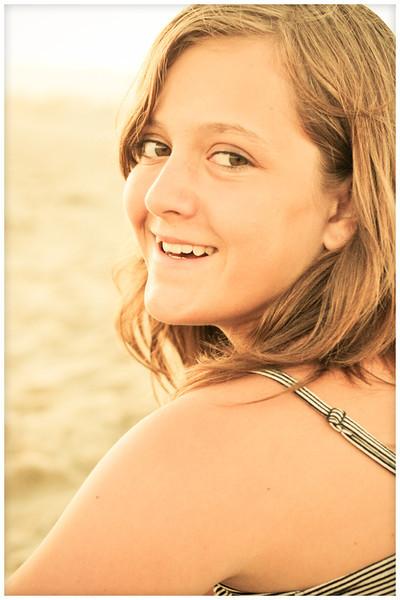 Daisy, the beach girl.