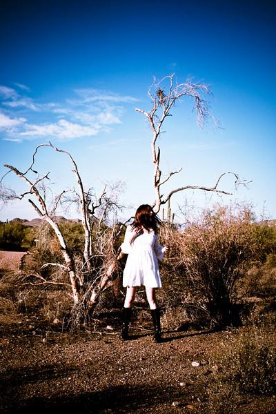 Andrea, desert.