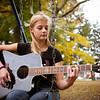 girl in park with guitar - pennsville