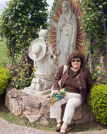 Northern California. Connie Martinez and Our Lady of Guadalupe. Sacramento.