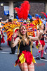 Dancer from the Manchester School of Samba