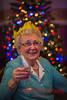 Nannie at Christmas.