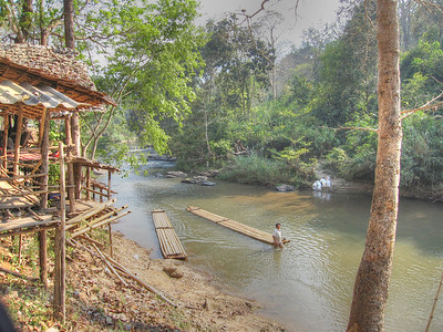 Rafting in Chiang Mai, Thailand