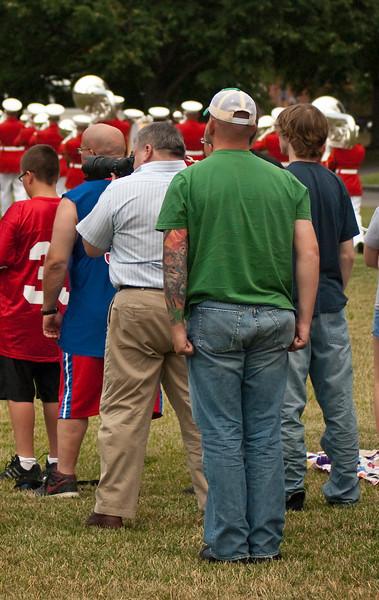 Always a Marine - Marine Tattoo at Iwo Jima