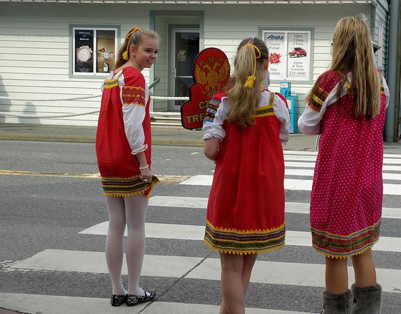 Alaskan girls.