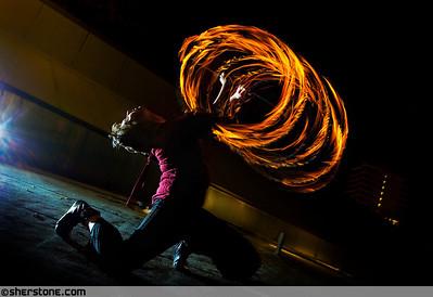 Fire, Willow  Dancer/Model, Willow Chandler