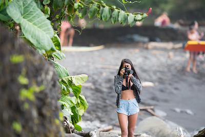Taking Beach Photo
