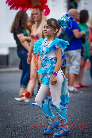 Young dancer at Brazilica Festival 2013, Liverpool.