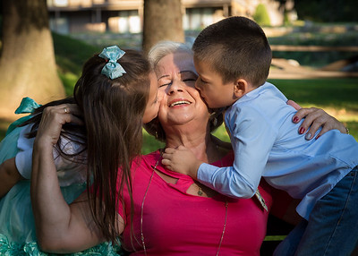 Grandma with her Grandchilden