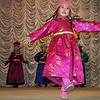 A living doll in pink at the Fashion Theater. (Mogoytuy, Siberia)