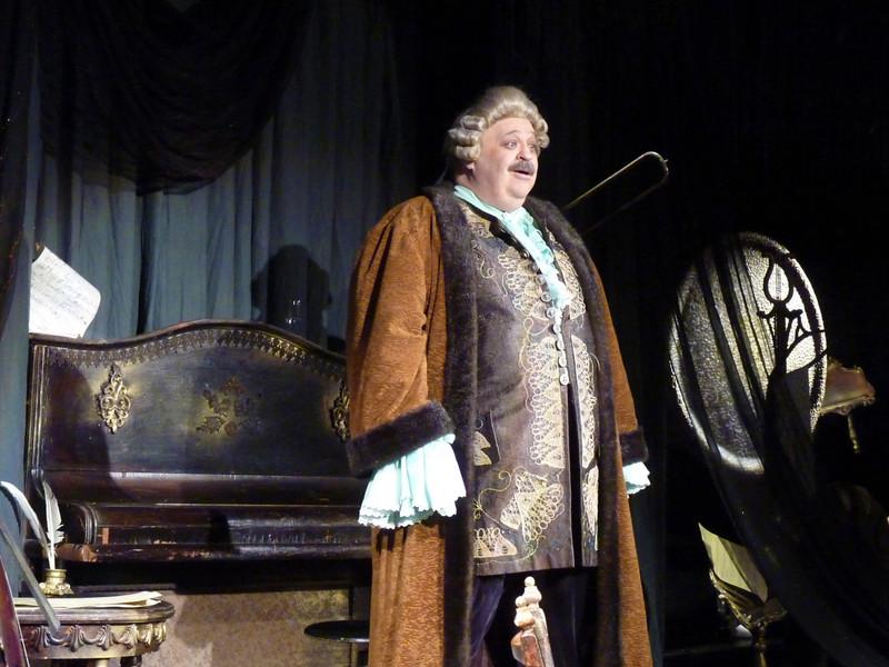 "Yuri Vaksman as Saleri in ""Mozart & Saleri"". (Yaroslavl)  ""Моцарт и Сальери на убогих провинциальных подмостках"". В роли Сальери - Юрий Ваксман."