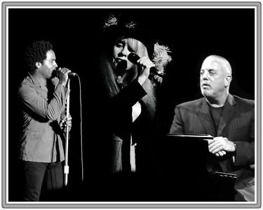 Lenny Kravitz, Stevie Nicks and Billy Joel in one night.