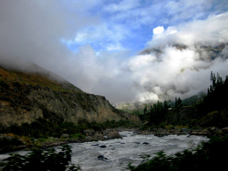 Urubamba River, on the way to Machu Picchu