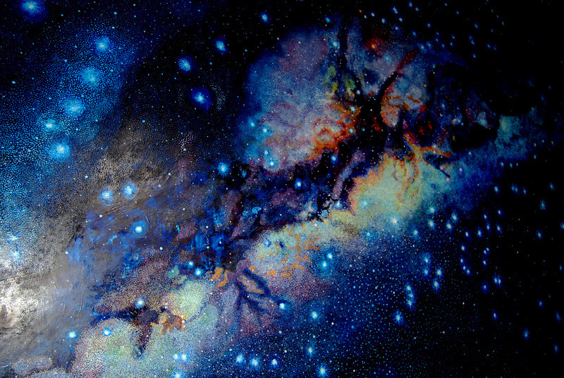 Incan painting of The Milky Way