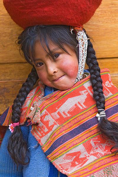 #243 School Girl, Huiloc, Peru