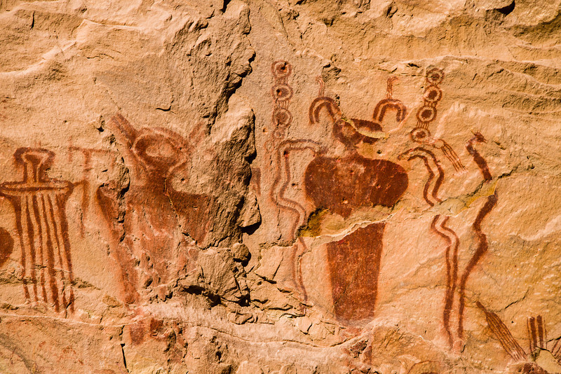 Thompson Wash Pictographs detail 2