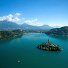 Lake Bled Droned
