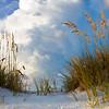 Sand dune, destin, florida